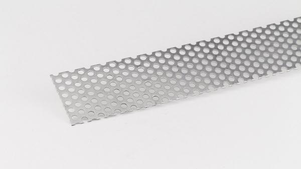 Lochblech Stahl verzinkt RV5/8 Rundlochung 1,5mm versetzt 1000mm