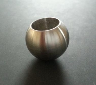 Kugel mit Sackloch 12,3mm