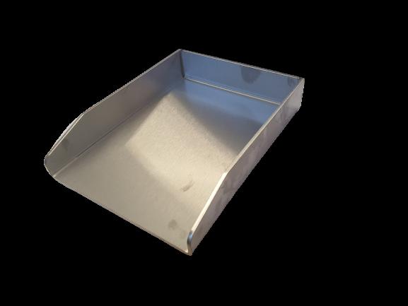 Edelstahl Grillplatte - Plancha 5mm Materialstärke