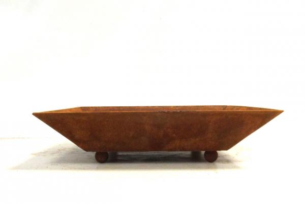 Edelrost Schale 20 x 20cm klein