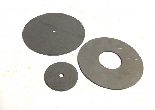 Stahlronde Ring 4mm mit Mittelloch