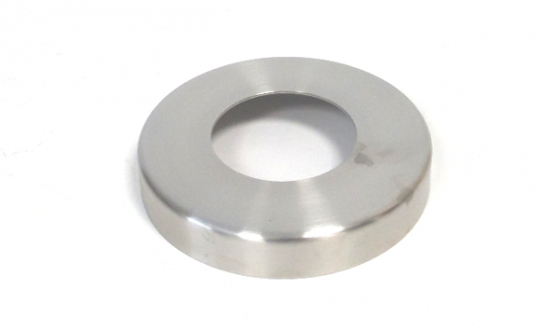 Abdeckrosette Ø125mm für Rohr Ø60,3mm Edelstahl