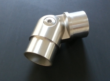 Gelenkbogen für Rohr Ø 42,4 x 2,0mm