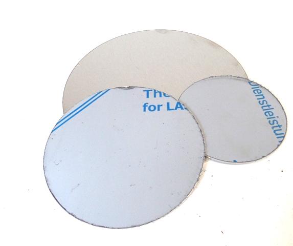 Edelstahl Ronde 2,0 mm Materialstärke