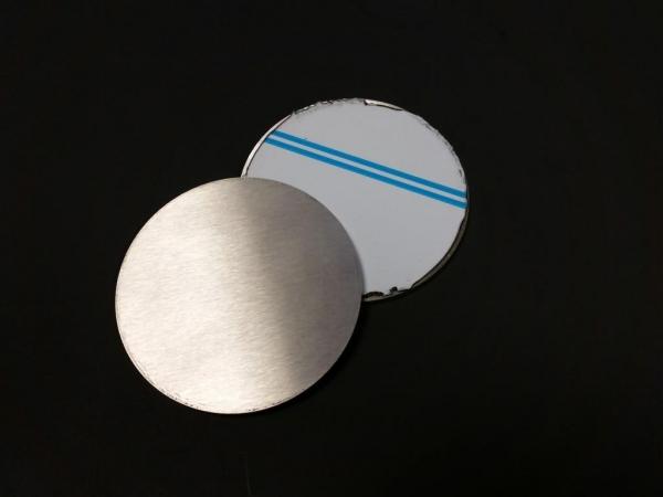 Edelstahlronde geschliffen Ø 90 x 4mm