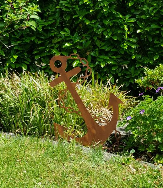 Anker - Gartenstecker