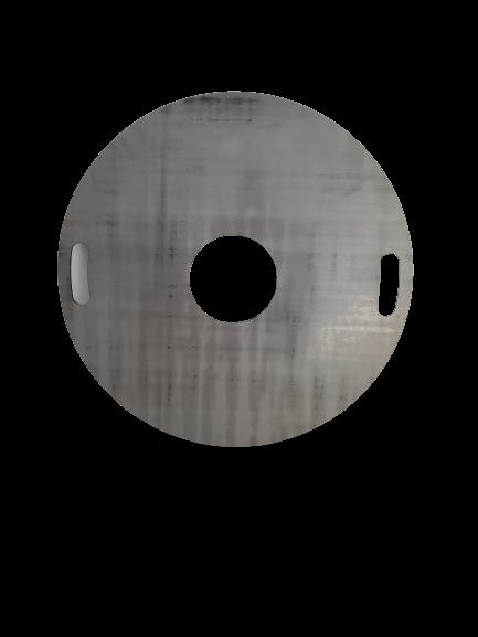 Grillplatte Ø60cm in verschiedenen Materialstärken