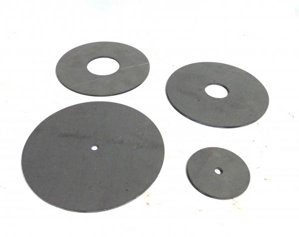 Stahlronde Ring 3mm mit Mittelloch