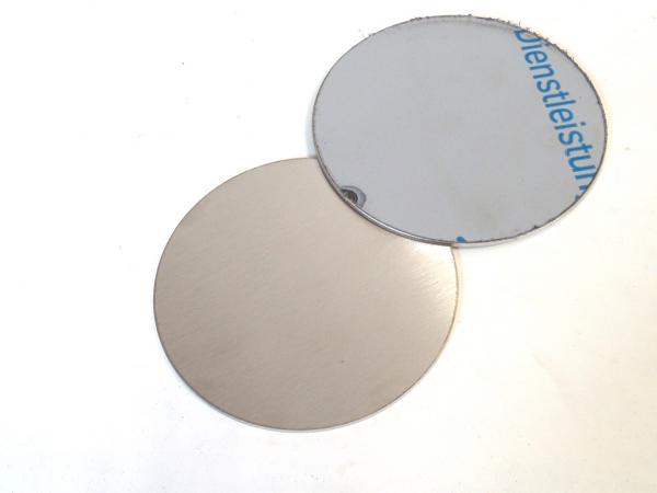 Edelstahl Ronde 1,0 mm Materialstärke