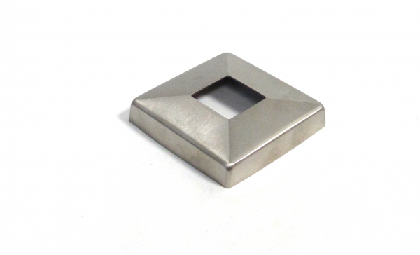Abdeckrosette 108 x108mm für Quadratrohr 40x40mm