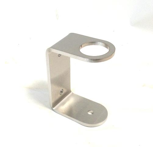 V2A Edelstahl Wandanker für Rohr 42,4x2mm