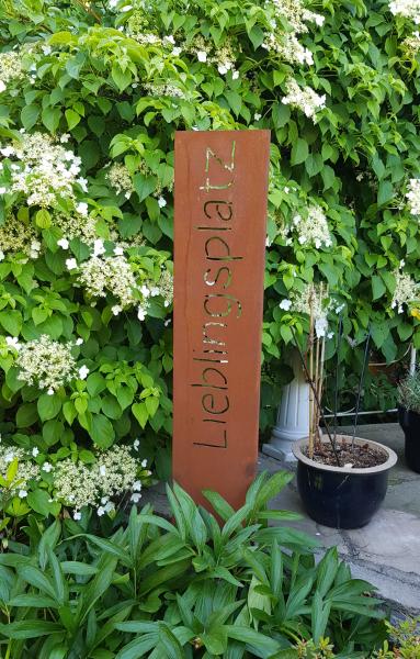 Gartenschild - Lieblingsplatz