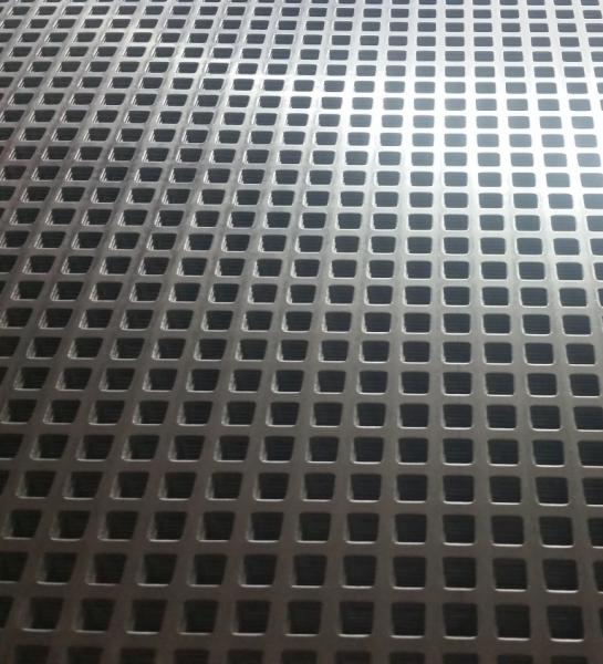 Lochblech Aluminium QG 10/15 Quadratlochung gerade 1,5mm 1000mm