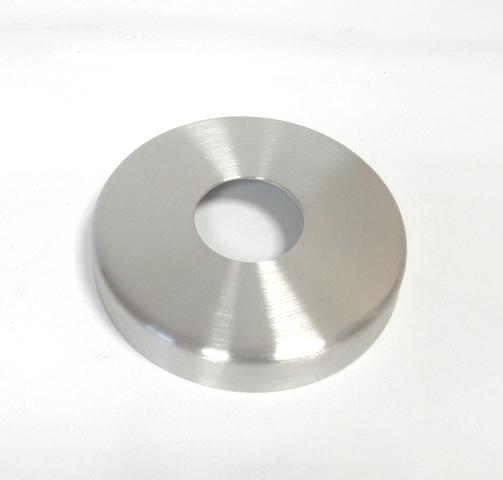 Abdeckrosette Ø125 x 22mm für Rohr Ø42,4mm