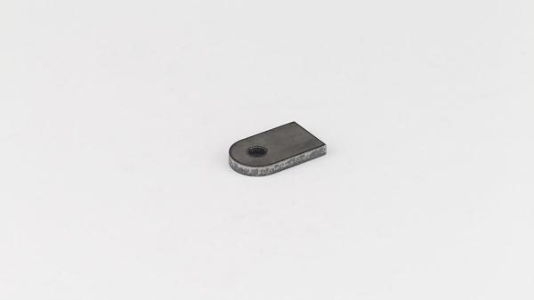 Anschweißlasche 50-30-5 mit 9mm Loch