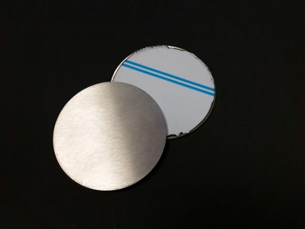 Edelstahlronde geschliffen Ø 80 x 4mm
