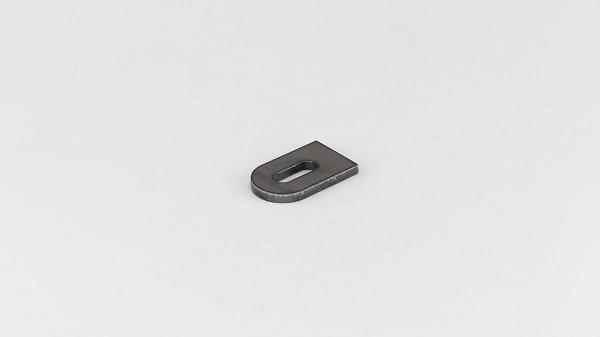 Stahl Anschweisslasche 50x30x5mm Langloch 9x25mm