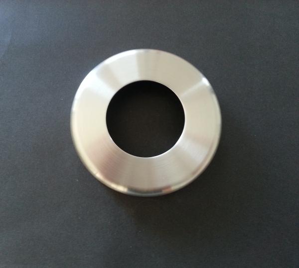 Rosette Ø 125x21mm für Rohr Ø 60,3mm