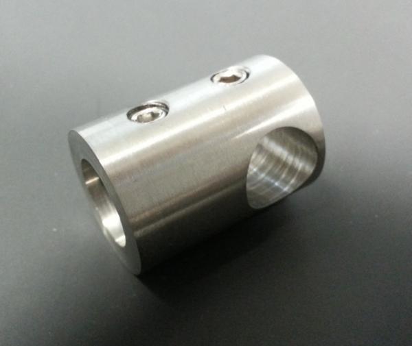 Querstabhalter Stab Ø 12mm flach