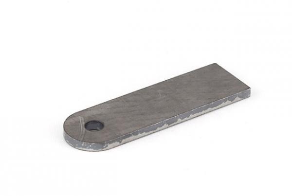 Stahl Anschweisslasche 100x30x6mm Bohrung Ø 9mm