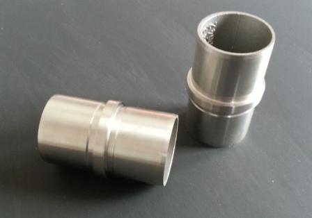 Rohrverbinder Steckfitting für Rohr Ø 42,4 x 2,0mm